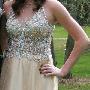 Dave & Johnny Prom Gown Size 5/6